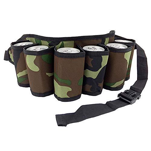 Meilo Bierriem Carry drankentas riem bierhouder voor feestjes bergbeklimmen taillezakken