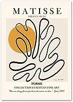 ピカソポスター抽象女性ツリーサンピジョンラインアート絵画ミニマリストボディポスタープリントモダンな壁の写真寝室の装飾40x60cmフレームなし-W3