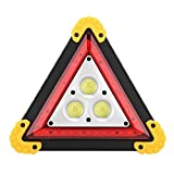 Señal de advertencia de triángulo liviano resistente al desgaste de señal de avería de coche multifunción de 30 W, para avería de coche