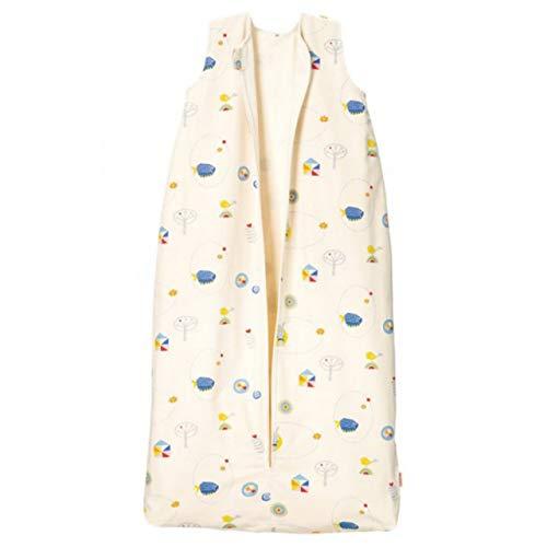 Cotonea Bio-Baumwolle Kinderschlafsack mit Flanellfutter Design Meister Hase Größe: 110
