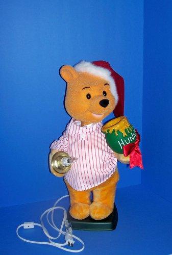 Disney Animated Telco Motionette Christmas Winnie Pooh