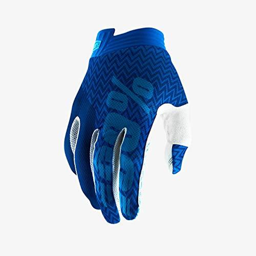 Sconosciuto 100% Itrack Gloves, Blu, S