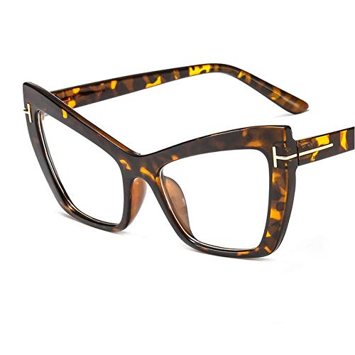ZZOW Gafas De Sol De Ojo De Gato A La Moda, Gradiente para Mujer, Se Puede Equipar con Montura De Gafas para Hombre con Miopía, Gafas De Sol Uv400
