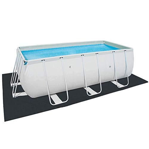 youngfate Solar Cover Pool Solarabdeckplane Pool Rund Rechteckig Poolabdeckplane Schwimmbadabdeckung PE Bubble Film Staubdichte Feuchtigkeit Und UV-Schutz (500 * 300cm)