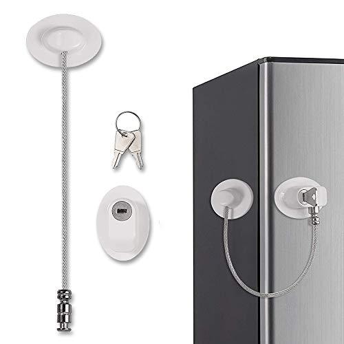 Cerradura para Refrigerador con Llave, Cerradura para Puerta para Niños, para Seguridad...