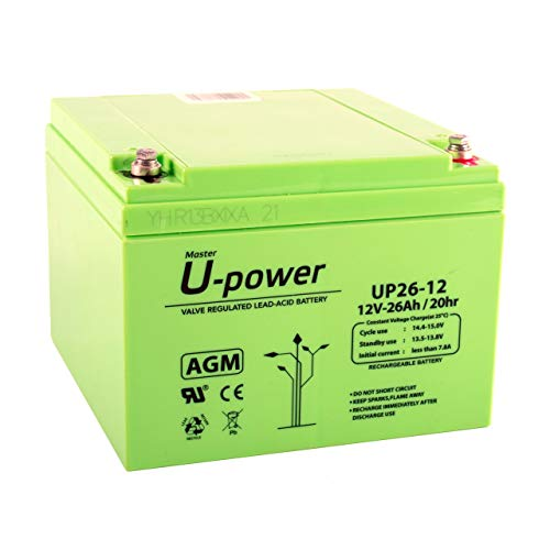 Master U-Power Mu-Up35-12 Batería Plomo Agm 35Ah 12V