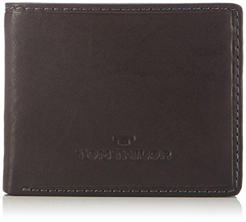 TOM TAILOR Geldbörse (Jeans Format) Herren Lary, Schwarz, one size, Portemonnaie, TOM TAILOR Tasche Herren