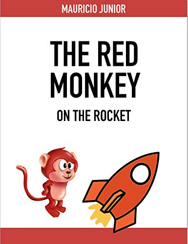 The Red Monkey on the rocket