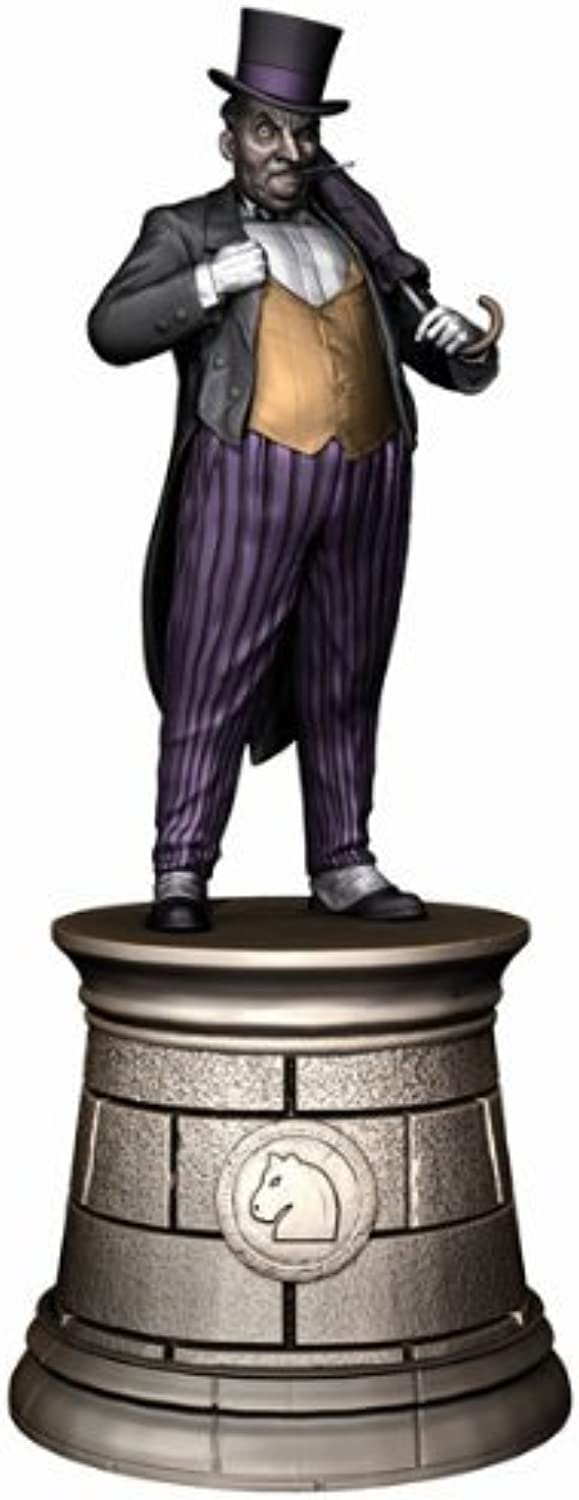 Dc Superhero Chess Collection Magazine   4 Penguin schwarz Knight by Eaglemoss