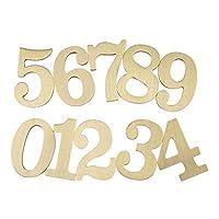 1ピース1/2/3インチ3Dフローティングハウスプラーク番号0-9文字A-Z真鍮アルファベット数字ドアプレートサインホーム屋外オフィスモダンホテルルームアドレス、防錆耐久性
