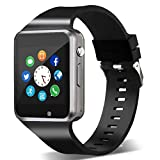 Smart Watch,Unlocked Smartwatch Compatible with Bluetooth/Android Phone Touchscreen Call Text Notification Sync Camera Music Player Smart Watches for Women Men Kids