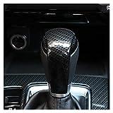 PREPP Ajuste para Mazda 2 3 6 CX-3 CX3 CX-5 CX5 CX-9 CX9 2017-2019 caja de engranajes estilo deportivo Gear Head Shift Frame Cover Trim Stickers Accesorios