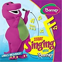 Start Singing With Barney by Barney (2003) Audio CD