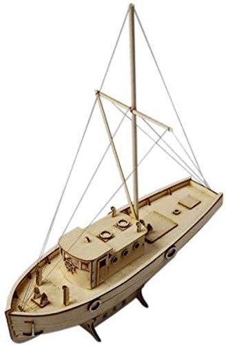 RUXMY Decoración Modelo de velero Modelo de Montaje de Barco Kits de Bricolaje Barco de Vela de Madera 1:50 Escala decoración Juguete Regalo