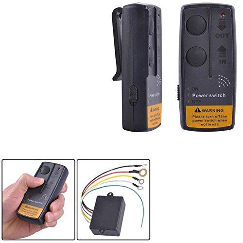 Cuasting Kit de mando a distancia de cabrestante de 12 V para coche, ATV, SUV, UTV...