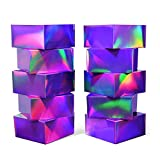 Gift Boxes with Lids, 20 pcs 8x8x4in Gift Wrap Boxes, Gradient Paper Gift Wrap Boxes for Gifts,Bridesmaids, Chocolate, Decorative Gift Wrap Boxes Bulk for Crafting