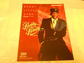 EVERY LITTLE STEP BOBBY BROWN 1989 SHEET MUSIC FOLDER 573