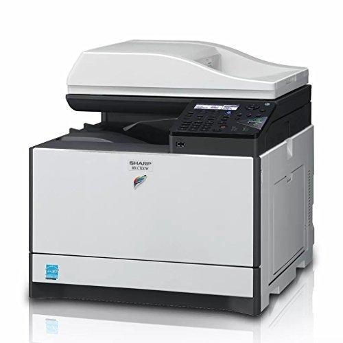 Sharp Multifuncional MX-C300W Copia, impresión y escaneo a Color, 30ppm, dúplex, Red, Carta y...