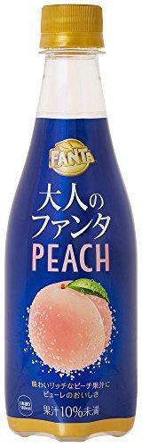 コカ・コーラ 大人のファンタ ピーチ ペットボトル 410ml×24本