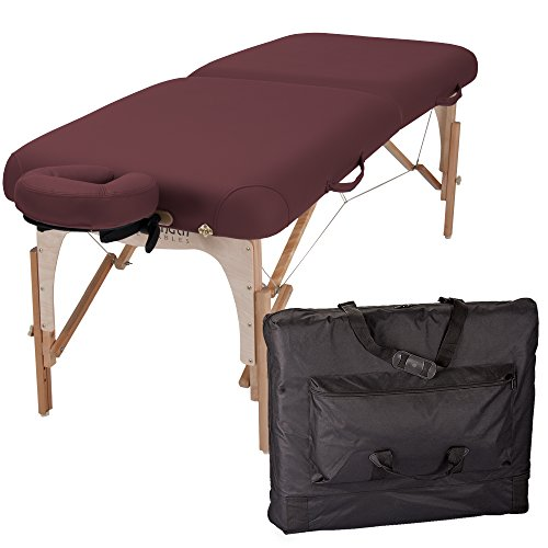 Inner Strength E2 Portable Massage Table Package Full Reiki – Incl. Deluxe Adjustable Face Cradle, Pillow & Carrying Case