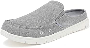 FANTURE Men Loafer Slip On Sneakers Casual Comfort Lightweight Travel Stretch Canvas Shoes -U419XXXME001