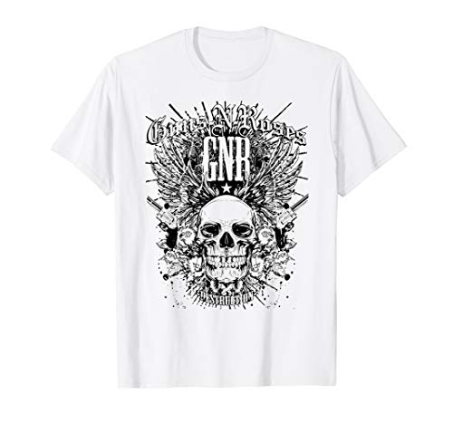 Guns N' Roses Official Destruction White T-Shirt T-Shirt