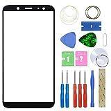 MovTEK Pantalla Repuesto Cristal Tactil Frontal Original para Samsung Galaxy A6 2018 A600F con Kit...