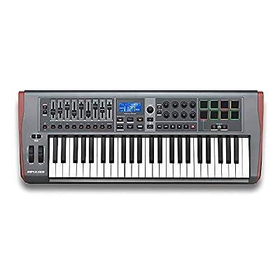 Novation Impulse 49 USB Midi Controller Keyboard, 49 Keys by Novation