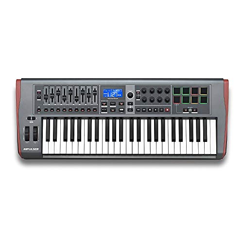 Novation Impulse 49 USB Midi Controller Keyboard, 49 Keys