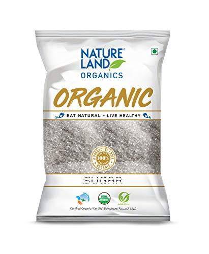Natureland Organics White Sugar 1 Kg - Organic Sugar