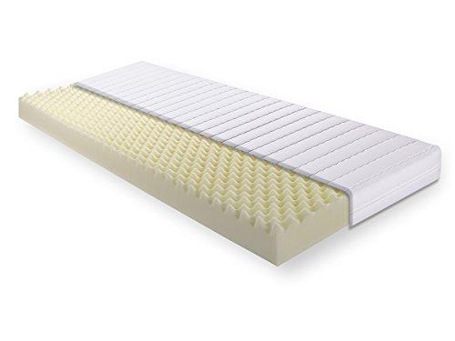 moebel-eins BRECKLE VITAL 12 Komfortschaum Matratze H2, 180 x 200, Härtegrad 2