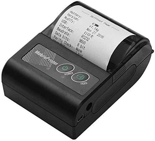 Imprimante de reçu thermique portable sans fil BT 58 mm compatible avec les commandes d'impression ESC / POS définies pour iOS Android Windows pour les entreprises de magasin de détail de supermarch