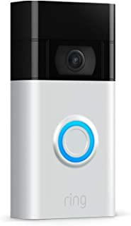 Nuovo Ring Video Doorbell | Videocitofono con video in HD a 1080p, rilevazione avanzata del movimento e facile installazio...