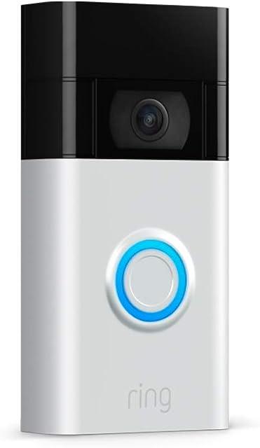 Nuevo Ring Video Doorbell | Vídeo HD detección de movimiento avanzada e instalación fácil