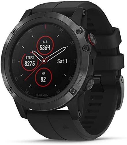 Garmin Fenix 5 Plus Premium Multisport GPS Smartwatch, 47mm,...