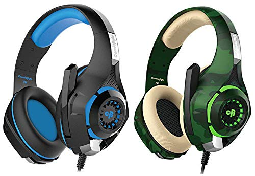 Cosmic Byte GS410 Headphones with Mic and for PS4, Xbox One, Laptop, PC, iPhone andAndroid Phones (&Cosmic Byte GS410 Headphones with Mic and for PS4, Xbox One, Laptop, PC, iPhone and Android Phones (