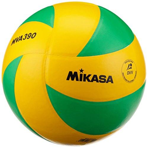 Mikasa Volleyball MVA 390 CEV, Gelb/Grün, 5, 1172
