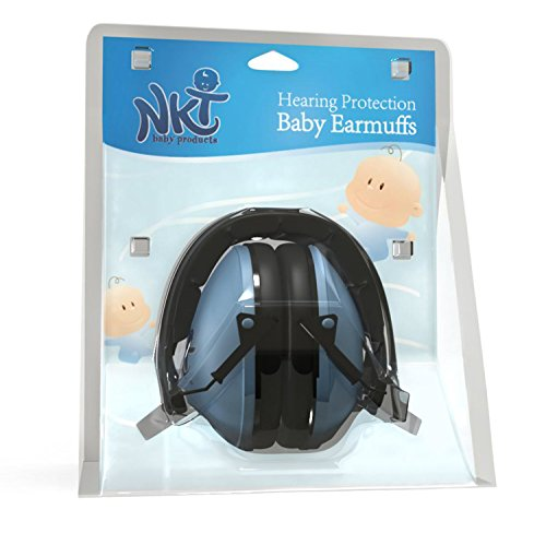 Best US Certified Kids Hearing Protection Earmuffs by NKT Baby...