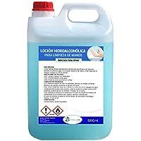 Ecosoluciones Químicas ECO- 901   5 litros   Loción Hidroalcohólica para manos 70% ALCOHOL   Formato ahorro