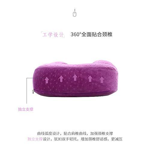 HOSD - Almohada para la nuca (lengua pato lento, rebote de almohada Pouvez 30*28*11
