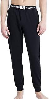 Calvin Klein Men's Monogram-Logo Joggers Black Large