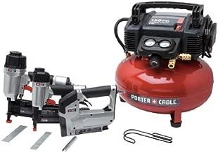 PORTER-CABLE Air Compressor Kit, 6-Gallon, 3-Tool (PCFP12234)