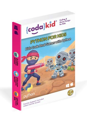 Code Python, Award-Winning STEM Courses, Coding for Kids, Ages 10+ with Online Mentoring Assistance,...
