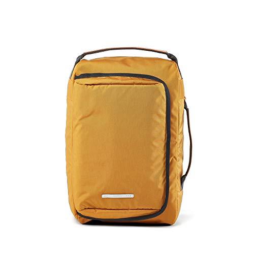 rawrow Fashion Schule Rucksack Schultasche R Tasche 100Wax Canvas gelb senffarben