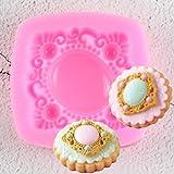 FGHHT Molde de Fondant Herramientas de decoración de Pasteles de Chocolate Molde de Silicona para DulcesAccesorios de Cocina
