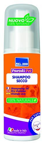Shampoo a secco per cani di tutte le razze,shampoo per cane PH neutro igienizzante al timo, shampoo per cani azione calmante ed emolliente, shampoo antiprurito per cani all'estratto di timo da 100ml