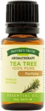 Nature's Truth Aromatherapy 100% Pure Essential Oil, Tea Tree, 0.51 Fluid Ounce - Buy Packs and Save (Pack of 2)