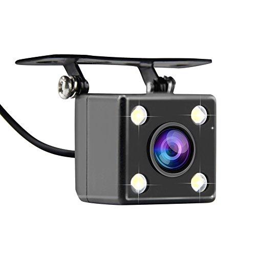AZDOME wasserdichte Rückfahrkamera 170° Weitwinkelobjektiv, IP67 wasserdichte HD Rückwärtsfahrkamera für GS63H/ M06 Dashcam mit AV-IN Port(WR01)