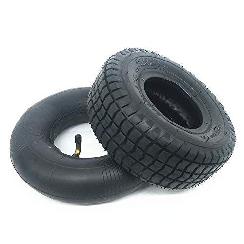 Neumáticos para patinetes eléctricos,9 Pulgadas 9X3.50-4 Neumáticos sólidos Antideslizantes,Resistentes Desgaste a Prueba...