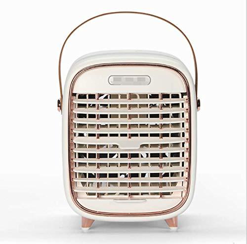 Mini Enfriador de Aire NASUM, Mini Aire Acondicionado Portátil, 2 en 1 Enfriador de Aire USB, Refrigeración, Humidificación, Utilizado en Escritorios, Habitaciones, Oficinas
